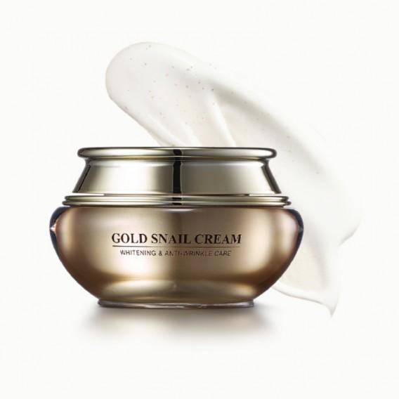 GOLD SNAIL CREAM WHITENING & ANTI-WRINKLE CARE