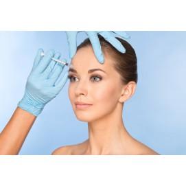 Aplikácia botulotoxínu - Botox