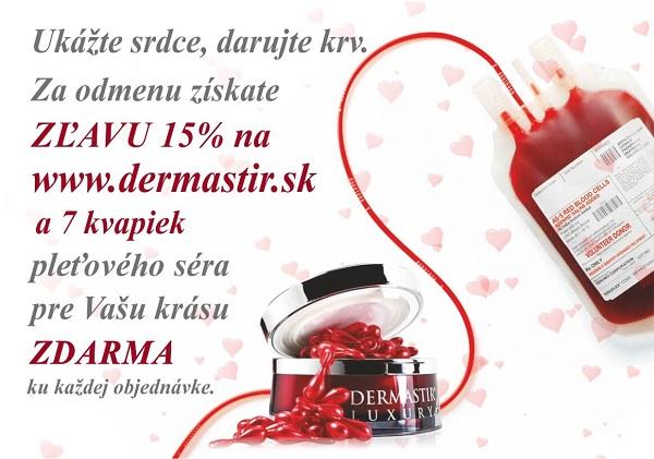 valentínska kvapka krvy