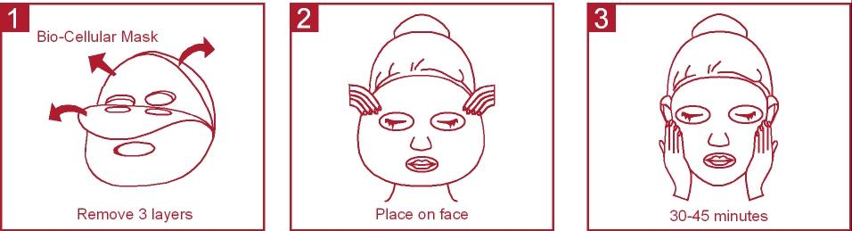 aplikovanie pleťovej masky